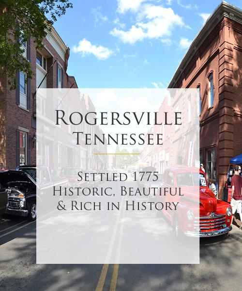 Downtown Rogersville Tn Destination Tours
