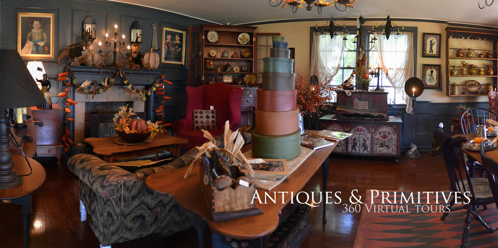 Antiques and Primitives shopping in the south