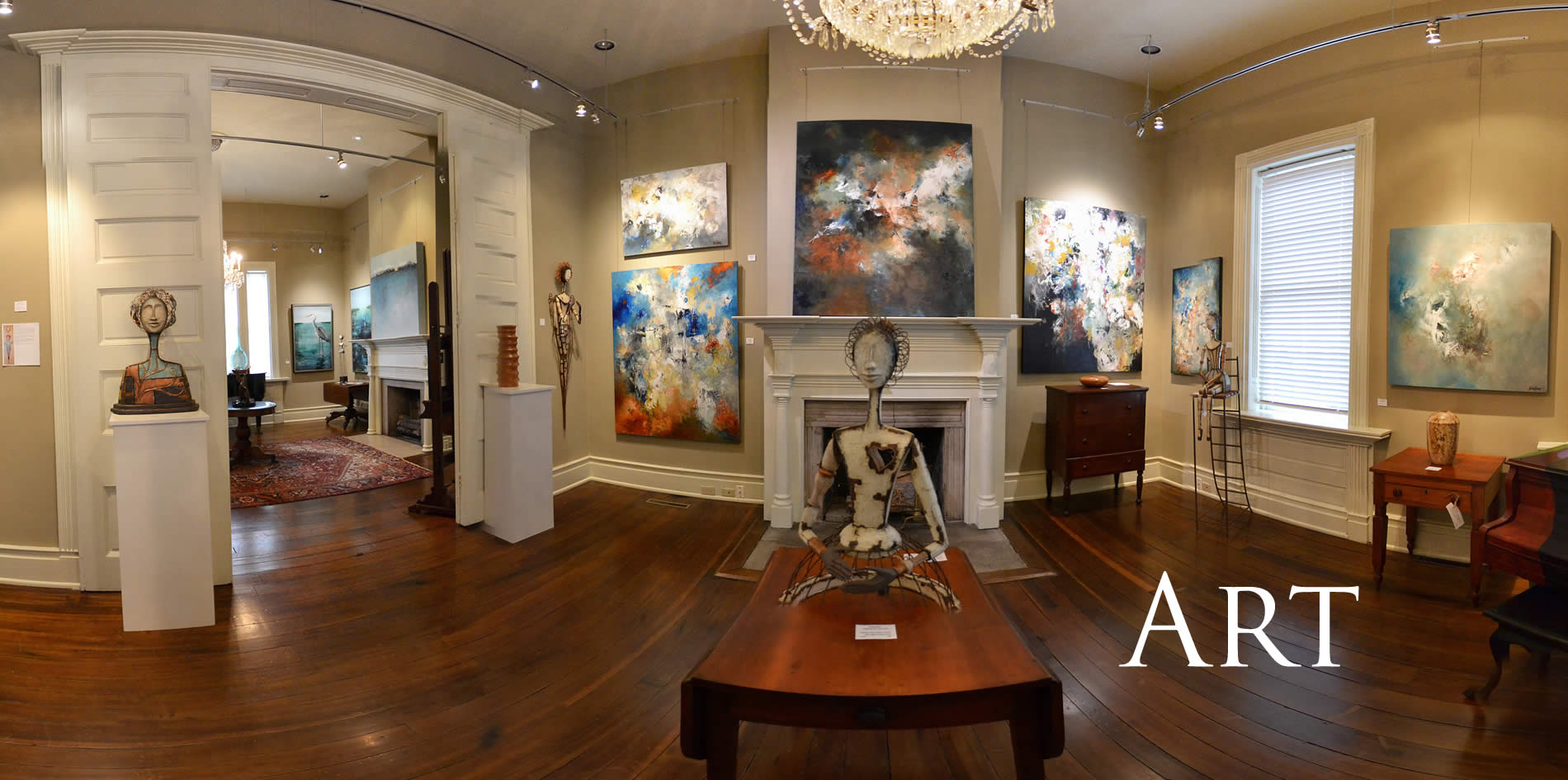 art galleries in the south