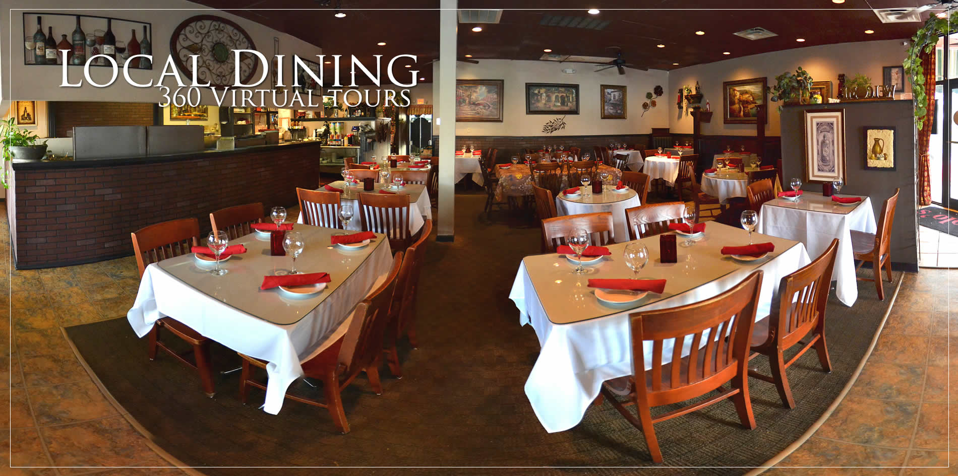 local southern dining virtual tours