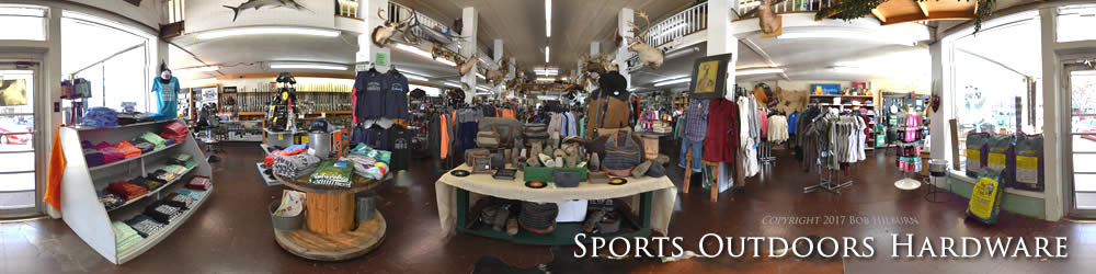 Sports Outdoors and Hardware on Destination Tours Virtual Tours