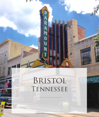 Downtown Bristol Tennessee