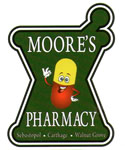 Moore's Pharmacy Carthage Mississippi Drug Store and Pharmacy